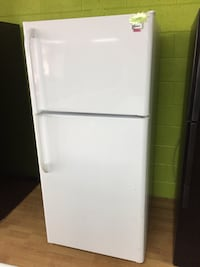 Haier white Top Freezer Refrigerator  Woodbridge, 22191