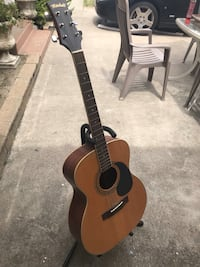 brown and black dreadnought acoustic guitar Garden Grove, 92841