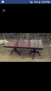 Solid wood cherry table Falling Waters, 25419