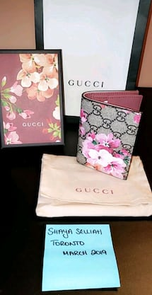 Gucci Blooms Card Case