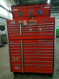 Red Snap On Toolbox for Mechanics Severn, 21144