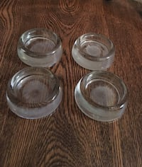 Vintage Glass Furniture Coasters Barrie, L4M 7J8