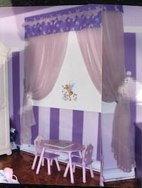 Window curtains with rod included
