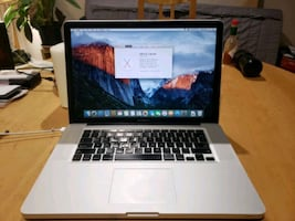 "15"" Macbook pro mid 2010 w/new motherboard"