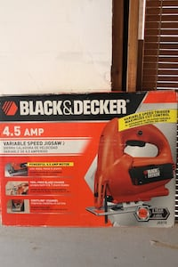Black and Decker 4.5 Amp m variable speed jigsaw Goffstown, 03045