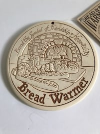 Bread warming porcelain disc Hoffman Estates, 60169