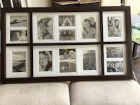 Beautiful solid wood gallery photo frame with white matting .Brand new Toronto, M2P 1E4