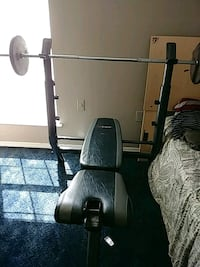 grey and black bench press comes with everything Marrero, 70072