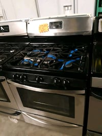 KENMORE STAINLESS STEEL 5 BURNERS GAS STOVE WORKING PERFECTLY  Baltimore, 21201