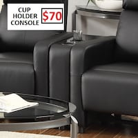 Coaster Home Furnishings Contemporary Console, Black