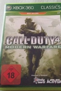 Call of Duty 4 Modern Warfare Xbox 360 Spieletui Berlin, 10783