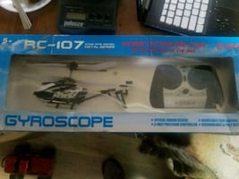 2 remote control helicopters