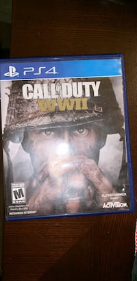 Sony ps4 call of duty wwii game Manassas, 20110
