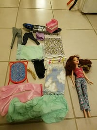 Barbie doll and accesories Toronto, M2L 2G1