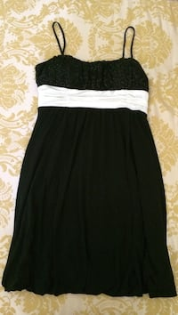 Beautiful black and white party dress