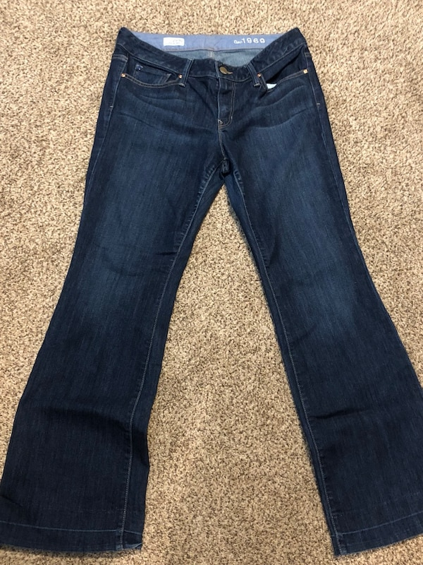 Used Gap Boot Cut Jeans Barely Used 29 8 Long For Sale In Elgin