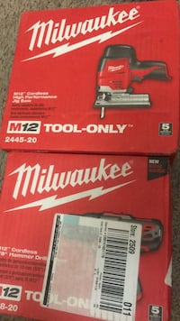 Milwaukee M18 Fuel tool box Silver Spring, 20904