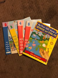 Learning books and 1 book is 100 child's first English to Spanish words age 3+ Toms River, 08753