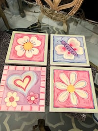 SET OF 4 PICTURE FRAMES Miami, 33184