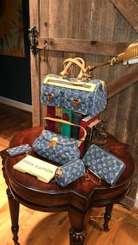Louis Vuitton denim collection all in one Olney