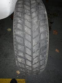 205/70/R15 winter tires on rims in new condition Toronto, M9W