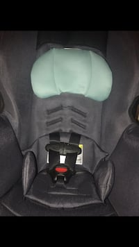 Gray and black booster seat 268 mi