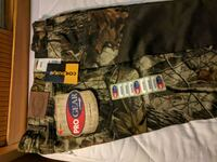 Mens camouflage upland hunting pants