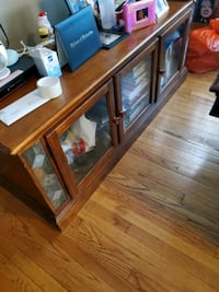 2pc Wall unit holds 65in tv *Entertainment Center