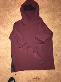 Nike tech fleece and Northface 151 mi