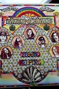"Lynyrd Skynyrd ""Second Helping"" vinyl album"
