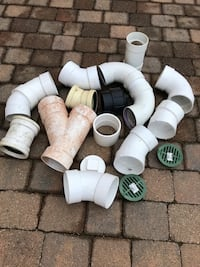 Assorted 31/2 PVC fittings South Windsor, 06074
