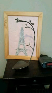 Eiffel Tower Art Calgary, T2B 0J2