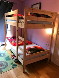 Bunk bed, duvets and pillows not inclusive.  Stavanger, 4034