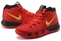 New Nike Kyrie 4 Red Black Gold To Buy LOSANGELES