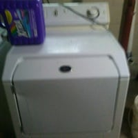 white front-load clothes dryer Masury, 44438