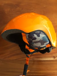 Giro Orange Ski Helmet Washington, 20016