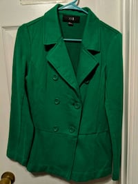 green double-breasted coat Woodbridge, 22192