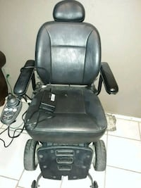 black leather office rolling chair Alamo, 78516