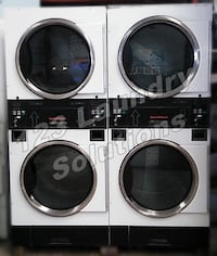 Double Stack Speed Queen Dryer STT30NBCB2G2W01 120v 60Hz (White) Used La Habra