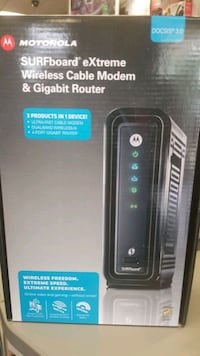 Motorola Wireless Cable Modem and Router Woodbridge, 22192
