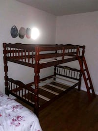 Brand New Twin Size Cherry Wood Bunk Bed(New in Box)  Silver Spring, 20902