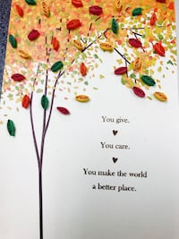 You Give You Care You Make The World A Better Place book Edmonton, T5H 2Y4
