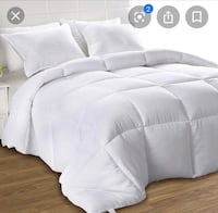 Top quality king Hutterite white down duvet   Milton, L9T 9A1