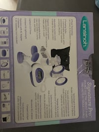 white and blue Lansinoh breast pump box Brampton, L6T 4R1