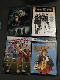 Four assorted movies Kingston, K7M 4G6