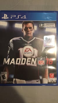 Madden NFL 18 PS4 game case Concord, 28025