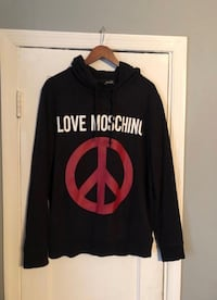 Moschino men's hoodie XL Authentic Washington, 20002