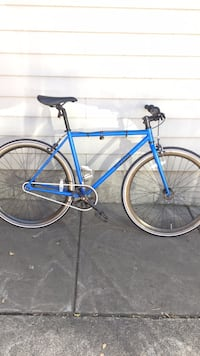 blue and black road bike Minneapolis, 55410