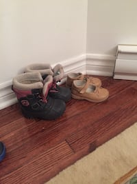 Snow boots with cute shoes 10$ for both Longueuil, J3Y 1V1