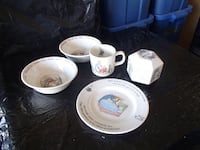 collectible dishes bunnykins EDMONTON